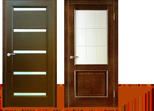 Хорошие двери - Шпонированные двери